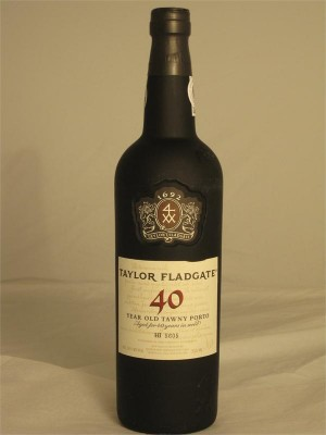 Taylor Fladgate 40 Year Old Tawny Porto 20% ABV 750ml