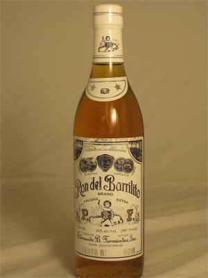 Ron del Barrilito 3 Star  Puerto Rican Rum 43% ABV 750ml