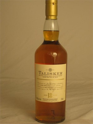 Talisker 18yr Single Malt  Isle of Skye 45.8% ABV 750ml