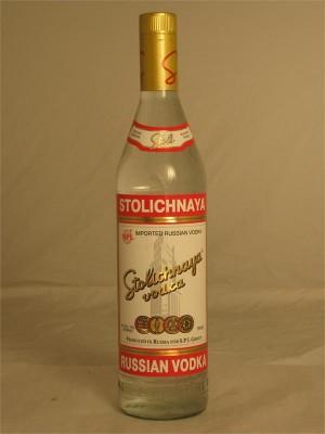 Stolichnaya Russian Vodka 40% ABV 750ml