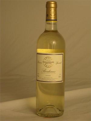 Barons de Rothschild Reserve Speciale 2009 Bordeaux AOC 60% Semillion / 40% Sauvignon Blanc 12% ABV 750ml