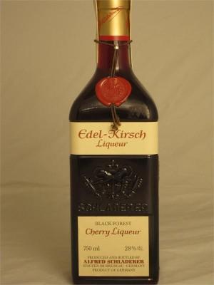 Schladerer Edel-Kirsch Black Forest Cherry Liqueur 28% ABV 750ml