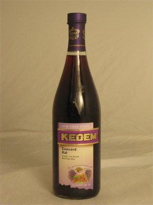 Kedem New York State Concord Kal 3.5% ABV 750ml Kosher