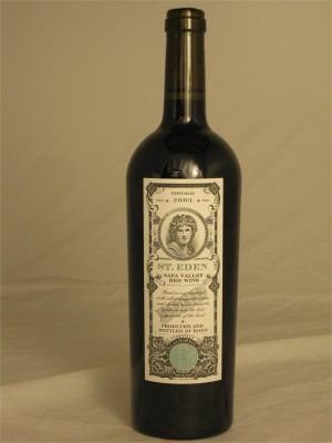 Bond St Eden Oakville Napa Valley Red Wine 2003 Bond Oakville California 750ml