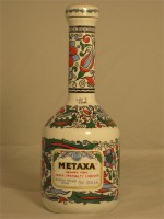 Metaxa Grand Fine Greek Specialty Liqueur in Hand Made Porcelain Bottle 40% ABV 750ml