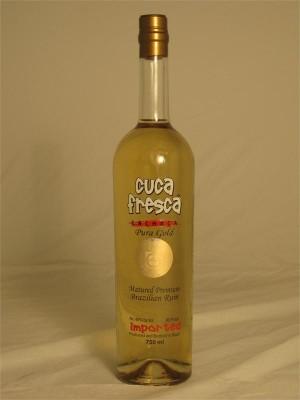 Cuca Fresca Cachaca Premium Gold Brazilian Rum 40% ABV 750ml