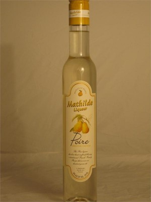 Mathilde Liqueur Poire (Pear) 18% ABV 375ml