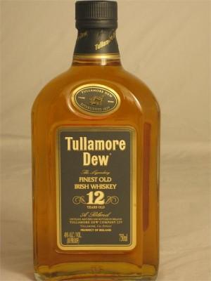 Tullamore  Dew 12 Year Finest Old Irish Whiskey 40% 750ml