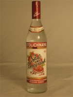 Stolichnaya Stoli White Pomegranik Flavored Russian Vodka 35% ABV 750ml