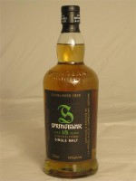 Springbank  15 Year Single Malt Scotch Campbeltown 46% ABV 750ml