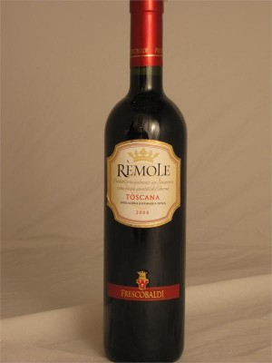 Frescobaldi Remole Sangiovese 85% / Cabernet Sauvignon 15% 2008 IGT 12.5% ABV 750ml