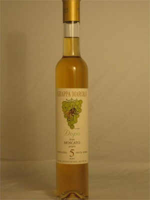 Marolo Grappa Dopo from Moscato grapes 42% ABV 375ml