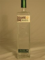 Square One  Basil Flavored Organic Vodka 40% ABV 750ml