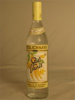 Stolichnaya  Stoli Vanil Vanilla Flavored Russian Vodka 35% ABV 750ml