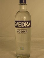 Svedka Imported Swedish Vodka Distilled Five Times 40% ABV 750ml