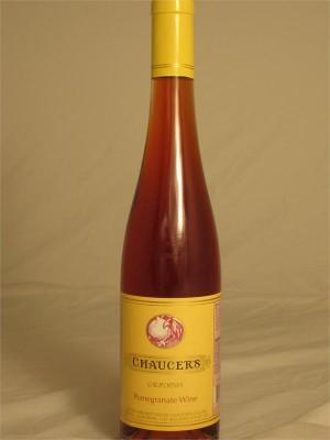 Chaucer's California Pomegranate Dessert Wine 11% ABV 500ml