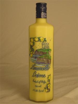 Gioia Luisa  Lemoncello Creme 17% ABV 750ml