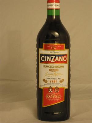 Cinzano Rosso Vermouth Italy 18% ABV 750ml