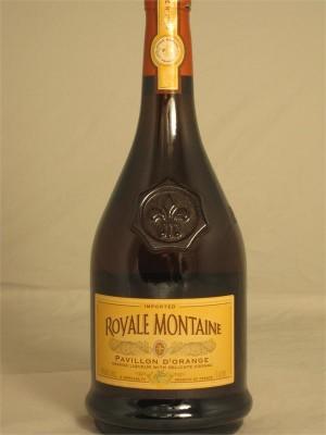 Royale Montaine  Pavillon D'Orange Orange Liqueur with Delicate Cognac 40% ABV 1 Liter