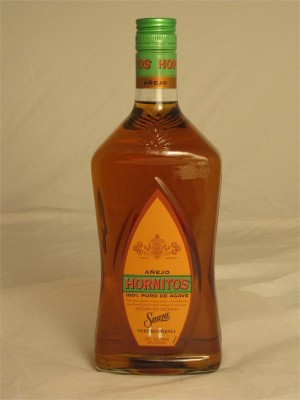Sauza Hornitos Tequila Anejo 40% ABV 750ml