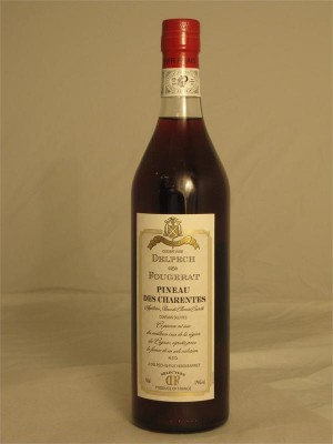 Delpech Fougerat  Pineau des Charentes AOC Red Dessert Wine 750ml