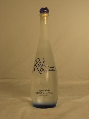 Rain Organics  Vodka Distilled Seven Times 40% ABV 750ml