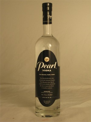 Pearl Original Pearl Vodka Distilled 5 Times 40% ABV 750ml  Canada