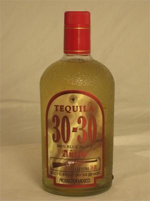 30-30 Tequila Anejo 40% ABV 750ml
