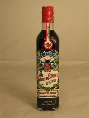 Gabriel Boudier  Creme de Cassis Liqueur Dijon France 375ml