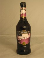 Hiram Walker Original Blackberry Flavored Brandy (Liqueur) 35% ABV 750ml