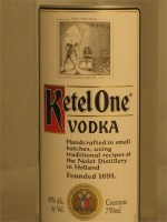 Ketel One Vodka 40% ABV 1.75L