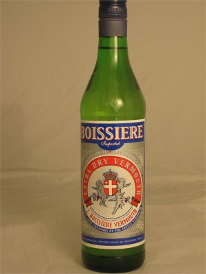 Boissiere Imported Extra Dry Vermouth 18% ABV 750ml