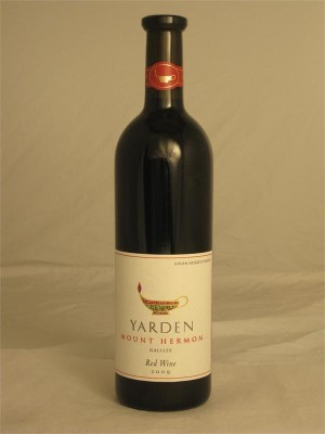 Yarden Mount Harmon Red Wine Israel 2011 14% ABV 750ml