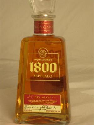 1800 Tequila Reserva Reposado 40% ABV 750ml