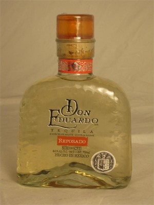 Don Eduardo Tequila Reposado 40% ABV 750ml