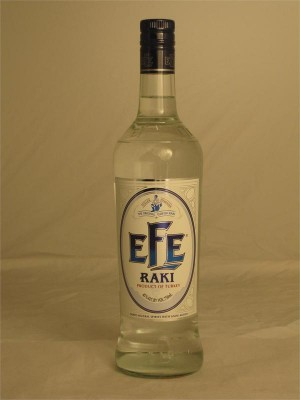 Efe Raki Klasik Liqueur Turkey  45% ABV 750ml