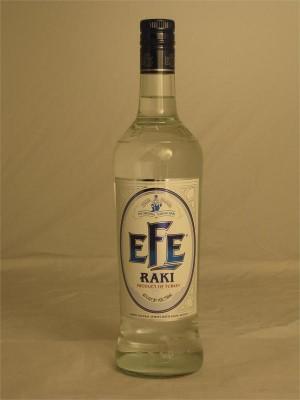 Efe Raki Liqueur Turkey  Grape Neutral Spirit with Anise 45% ABV 750ml