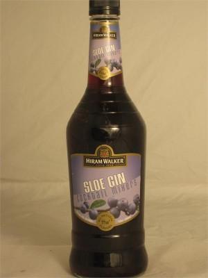 Hiram Walker Sloe Gin Liqueur 15% ABV 750ml