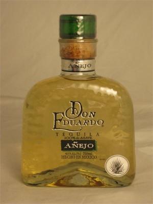 Don Eduardo Tequila Anejo 40% ABV 750ml