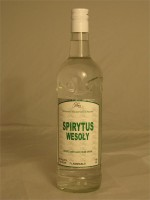 Spirytus Wesoly 96% ABV FLAMMABLE! - USE EXTREME CAUTION WHEN BOTH HANDLING AND CONSUMING! 750ml Poland