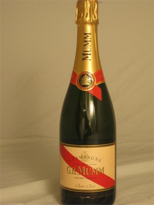 G. H. Mumm Brut Rose Champagne NV 12% ABV 750ml