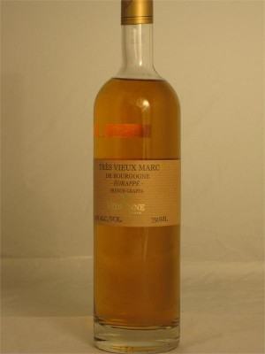 Vendrenne Tres Vieux Marc de Bourgogne Egrappe (French Grappa) 45% ABV 750ml