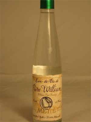 J P Mette Eau de Vie de Poire Willliam's Pear Williams Brandy 375ml Alsace France