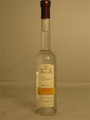 Lorenzo Inga Grappa di Prosecco 40% ABV 375ml