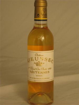 Chateau Rieussec 2005 Sauternes 14% ABV 375ml