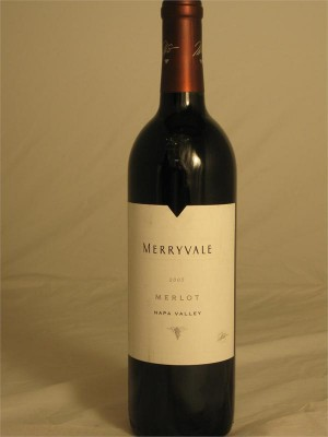 Merryvale Merlot Napa Valley  2008 14.9% ABV 750ml