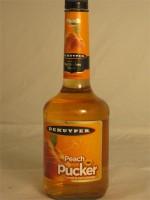 DeKuyper Peach Pucker Sweet & Sour Schnapps (Liqueur) 15% ABV 750ml