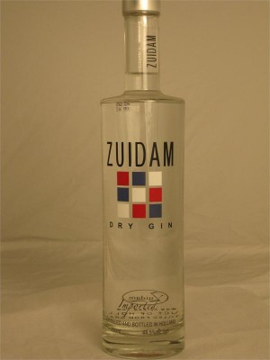 Zuidam Dry Gin Holland 44.5% ABV 750ml