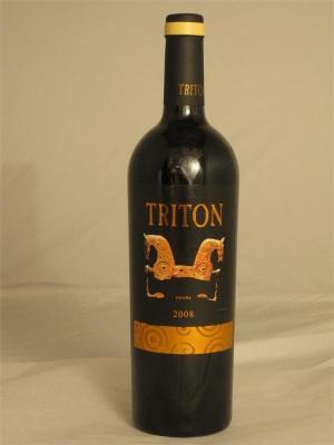 Triton 100% Tempranillo 2008 Vino de la Tieera de Castilla y Leon CO Bodegas Triton SL Zamora Spain 15% ABV 750ml