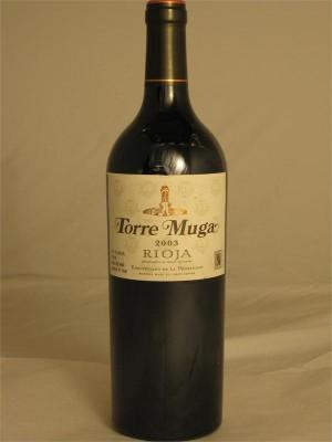 Torre Muga Tempranillo 2003 Rioja 14% ABV 750ml